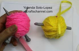 crochet and knitting lovers christmas ornaments all crafts channel