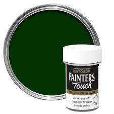 rust oleum painter u0027s touch interior u0026 exterior dark green gloss