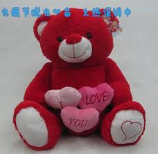 aliexpress com buy free shipping new cute red love heart teddy