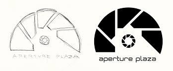 logo sketch aperture plaza center eric chamberlain