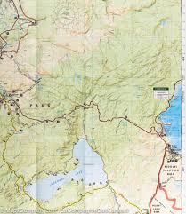 Usa National Parks Map by Map Of Old Faithful Area Yellowstone National Park Usa