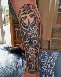 thigh tattoos for men polynesian tattoo tattoos pinterest