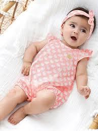 Amado Conjunto de fita do cabelo e macacão, motivo coelhinhos, para bebé  &JV87