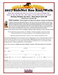 erie runners club2017 safenet boo run walk