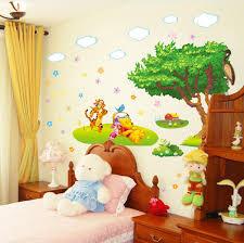 desain kamar winnie the pooh winnie the pooh stiker dinding kamar anak anak bayi kartun dinding