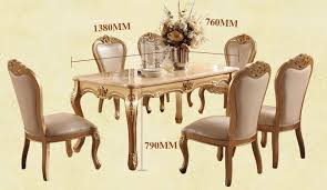 European Dining Room Furniture Latest Dining Room Marble Dining Table Set Luxury European Style