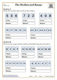 mean median mode range worksheet estimate of the mean worksheet