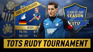 Sho Rudy tots tournament sebastian rudy tots prize fifa 17