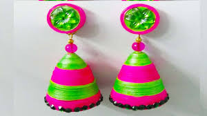 handmade paper jewellery paper quilling earrings quilling art