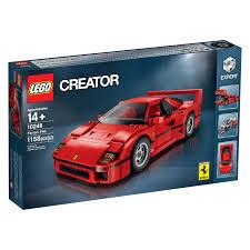 ferrari lego shell lego reveals 10248 ferrari f40 fbtb