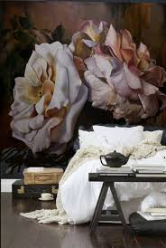 kv condo wallpaper wall murals a home decor trend i m loving floral wall murals home decor trends