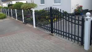 our wrought iron garden gates create an enchanting entry way into