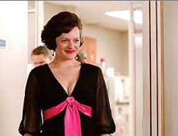 mad men dress behing peggy s black dress in the mad men finale