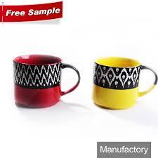 ceramic coffee mug with big handle ceramic coffee mug with big