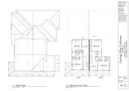 Site Plan Design by Design Carriage Homes Craftsman Second Floor Plan And Roof Plan