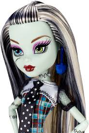 monster high frankie stein child halloween costume amazon com monster high original favorites frankie stein doll