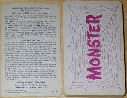 monster old maid card game 1964 u2013 horrorpedia