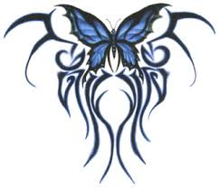 cool tribal butterfly designs