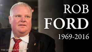 Rob Ford Meme - toronto s notorious ex crack mayor rob ford dies after battle with
