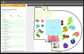 Floor Plan For Wedding Reception by Online Seating Chart Software Maker Generator Events U0026 Weddings
