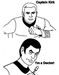 Dessins de Star Trek à colorier