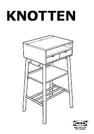 ikea bureau debout knotten bureau debout blanc bouleau ikea ikeapedia