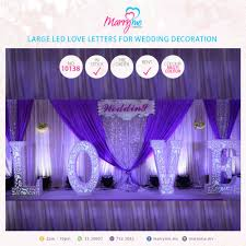 large led love letters for wedding decoration ibay