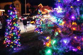 christmas night lights at treeside court u2013 sfhog