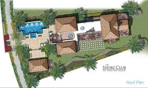 floor plan with roof plan turks and caicos real estate