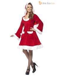 womens santa costume size 8 22 miss santa costume womens christmas fancy