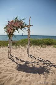 harbor lights resort on lake michigan wedding arch frankfort