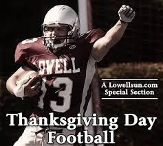 thanksgiving day football lowell sun