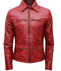 amazon clothes black friday once upon a time jacket emma swan red leather jacket at amazon