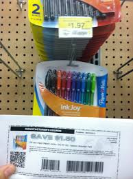 walmart school supply paper mate inkjoy pen coupon