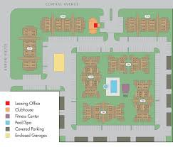 Montclair Campus Map Apartments For Rent In Upland Ca Park Central
