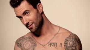 adam levine tattoos gif find on giphy