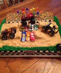 25 monster truck birthday cake ideas monster
