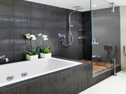 Small Bathroom With Black Hexagon by Bathroom Hex Floor With Good Questions Traditional Some Funk