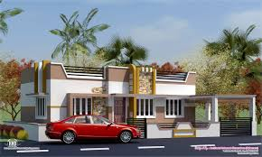small house elevation with portico bracioroom
