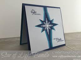 craftycarolinecreates star burst christmas card idea using star