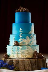 Winter Wedding Cakes Winter Wonderland Wedding Cakes Crazyforus
