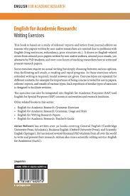 writing english papers english for academic research writing exercises writing english for academic research writing exercises writing exercises amazon de adrian wallwork fremdsprachige bucher