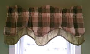 Textured Cotton Tie Top Drape by Window Valance Wikipedia