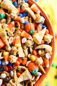 Vegetarian Halloween Appetizers Halloween Snack Mix U2014 Pip And Ebby