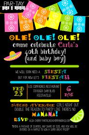 free editable fiesta invitation party like a cherry