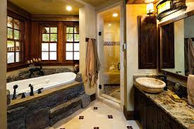 big bathrooms ideas cabin bathroom ideas inspired luxury rustic log cabin in