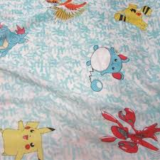 bed sheet sheets bright blue leaves ding bed sheeting fabric