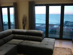 sea view living room luxury apartment wit a privileged sea homeaway ericeira