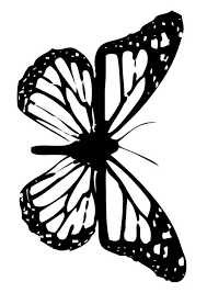 flying butterfly coloring pages hellokids com
