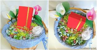 gift basket wrap craftionary